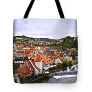 Cesky Krumlov Overview 2 Tote Bag