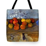 Cezanne: Apples & Biscuits Tote Bag
