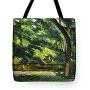 Cezanne: Etang, 1877 Tote Bag