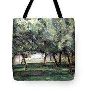 Cezanne: Le Clos Normand Tote Bag