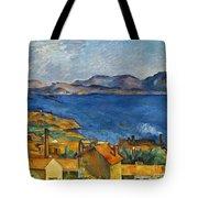 Cezanne Marseilles 1886-90 Tote Bag
