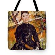 Cezanne: Mme Cezanne, 1890 Tote Bag