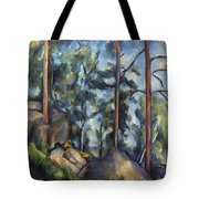 Cezanne: Pines, 1896-99 Tote Bag