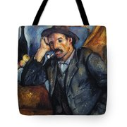 Cezanne: Pipe Smoker, 1900 Tote Bag