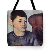 Cezanne: Portrait Of Son Tote Bag