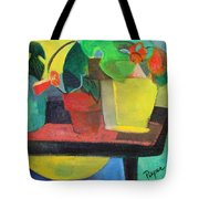 Cezanne Potting Stand Tote Bag