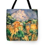 Cezanne: Sainte-victoire Tote Bag
