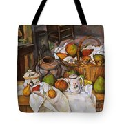 Cezanne: Table, 1888-90 Tote Bag