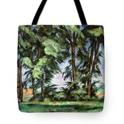 Cezanne: Trees, C1885-87 Tote Bag