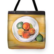 Cezannes Fruit Bowl Tote Bag