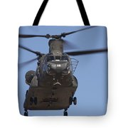 Ch-47 Chinook Flies Over Playas Tote Bag