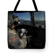 Ch-47 Chinook Pilot Refers Tote Bag