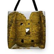 Chaco Canyon Ruins Tote Bag