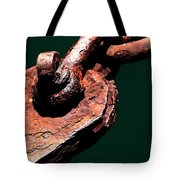 Chain Age II Tote Bag by Stephen Mitchell