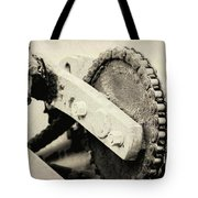 Chain And Gear Tote Bag