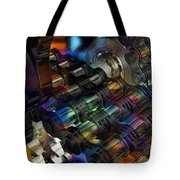 Chain And Sprockets - Amcg -  Macro 16 30 X 20 Tote Bag