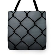 Chain Fence Tote Bag