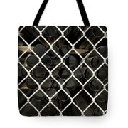 Chain Link Pipe Tote Bag