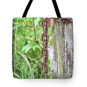 Chain Reaction Tote Bag