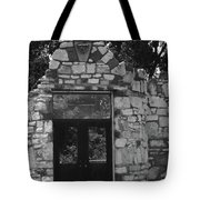 Chained Doors Tote Bag