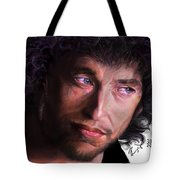 Chained To The Sky -  Bob Dylan  Tote Bag