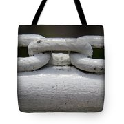 Chainlink Railing Tote Bag