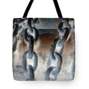 Chains - Nagative Tote Bag
