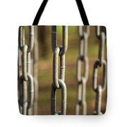 Chains Abstract 1 Tote Bag