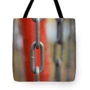 Chains Abstract 3 Tote Bag