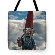 Chainsaw Art Gnome Tote Bag