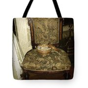 Chair By The Hearth Tote Bag