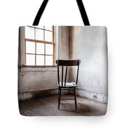 Chair By The Window Grafton Ghost Town Tote Bag