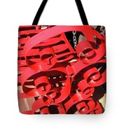 Chair Spiral Tote Bag