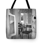 Chairs And Doors  Tote Bag