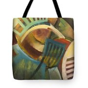 Chairs Around The Table Tote Bag
