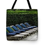 Chairs Of The Deck Tote Bag