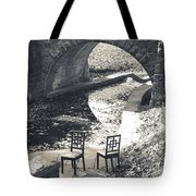Chairs - Stone Bridge Tote Bag
