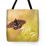 Chalcedon Butterfly Tote Bag