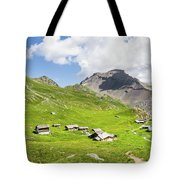 Chalets De Clapeyto # II - French Alps Tote Bag