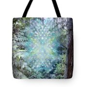Chalice-tree Spirit In The Forest V3 Tote Bag