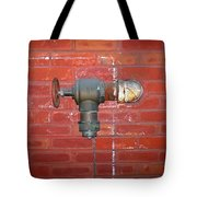 Chalked Pipe Tote Bag