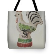 Chalkware Rooster Tote Bag
