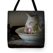 Chamber Pitcher With Basin 2 Tote Bag