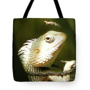 Chameleon Up-close 1 Tote Bag
