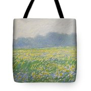 Champ D'iris A Giverny Tote Bag