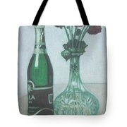 Champagne And Roses Tote Bag