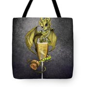 Champagne Dragon Tote Bag