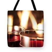 Champagne Glasses Tote Bag