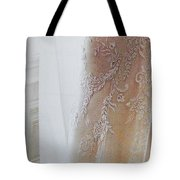 Champagne Lace Tote Bag