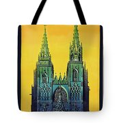 Champagne, Reims, Cathedral, France Tote Bag